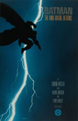 Batman, The Dark Knight Returns #1 (1986): First Issue; Classic Frank Miller Cover. Click for values