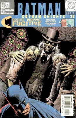 Origin and First Appearance, Mortician, Batman: Gotham Knights #28, DC Comics, 2002. Click for value