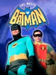Batman 1966 movie starring Adam West and Burt Ward, second superhero movie ever made