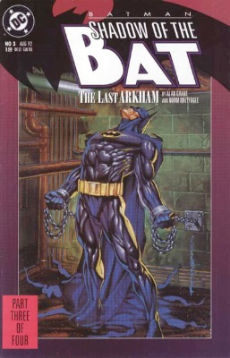 Origin and First Appearance, Amygdala, Batman: Shadow of the Bat #3, DC Comics 1992. Click for value