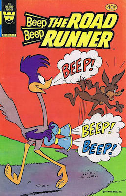 Beep Beep the Road Runner #93. Click for current values.