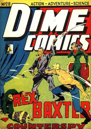 Dime Comics #28