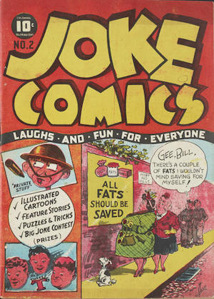 Bell Features Joke Comics #2