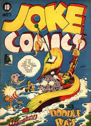 Bell Features Joke Comics #25