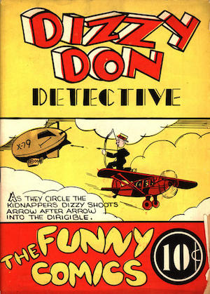 Bell Features The Funny Comics #1