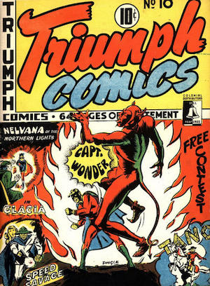 Bell Features Triumph Comics #10