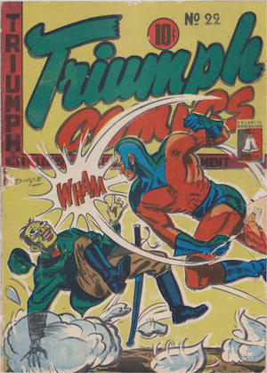 Bell Features Triumph Comics #22
