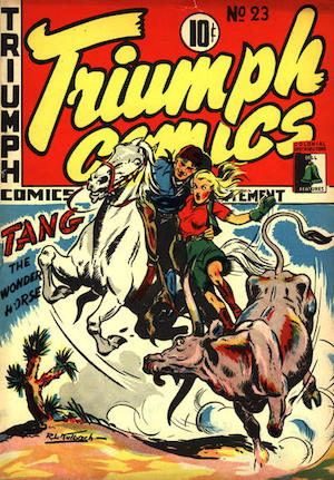 Bell Features Triumph Comics #23