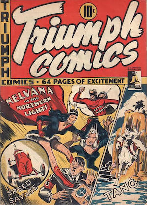 Canadian Whites: Bell Features Triumph Comics #7