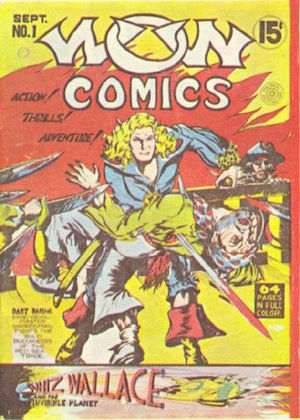 Canadian Whites: Bell Features WOW Comics #1