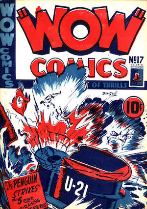 Bell Features WOW Comics #17