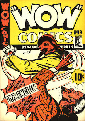Bell Features WOW Comics #18