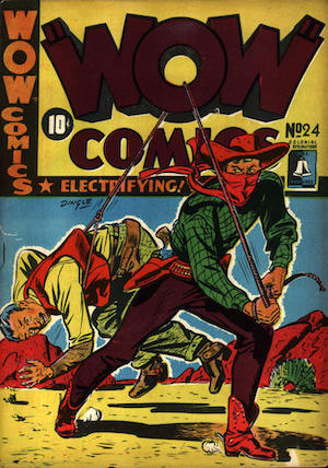 Bell Features WOW Comics #24