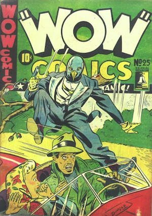 Bell Features WOW Comics #25