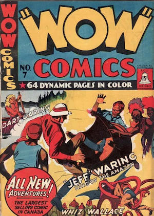 Bell Features WOW Comics #7