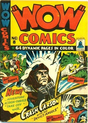 Bell Features WOW Comics #8