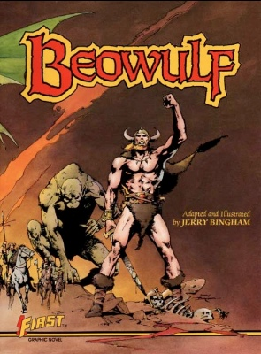 Origin and First Appearance, Beowulf, Beowulf Graphic Novel #1, First Comics, 1984. Click for value