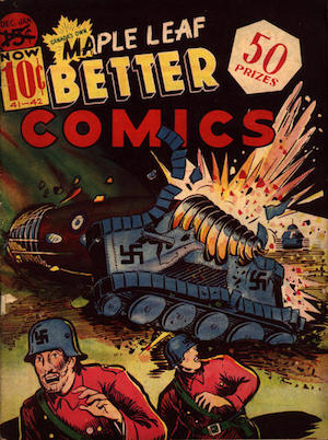 Maple Leaf Better Comics v1 #9