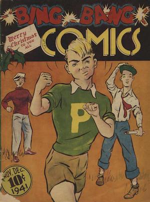 Canadian Whites: Maple Leaf Publications Bing Bang Comics v1 #1
