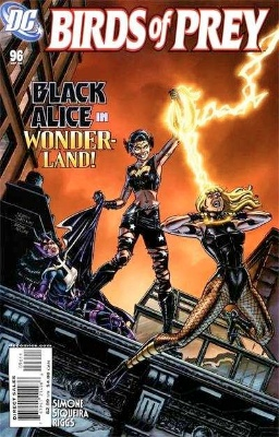 Origin and First Appearance, Misfit, Birds of Prey #96, DC Comics, 2006. Click for value