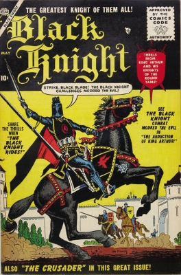 Origin and First Appearance, Morgan le Fay, Black Knight #1, Atlas Comics (Marvel Comics), 1955. Click for value