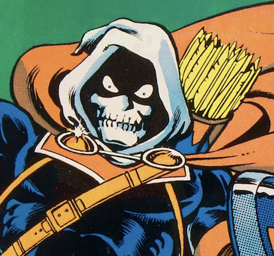 Black Widow movie antagonist: Taskmaster, first appearance Avengers #196