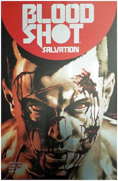 #71: Bloodshot Salvation Brushed Metal Variant, Suayan (2017). Click for values