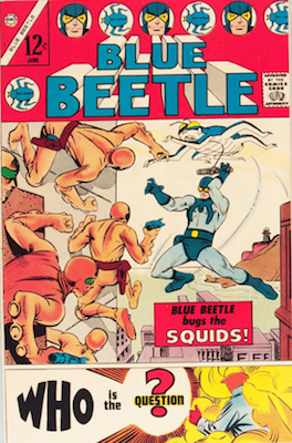Blue Beetle #1 (Volume 3, 1967, Charlton). Click for values