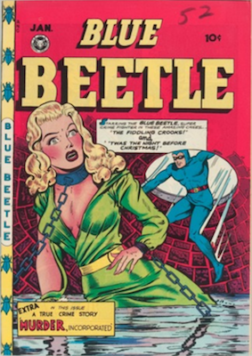 The Blue Beetle #52. Click for current values.