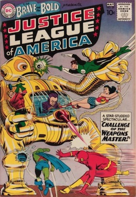 Brave and the Bold #30: rare comic book with JLA