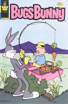 Bugs Bunny #222. Click for current values.