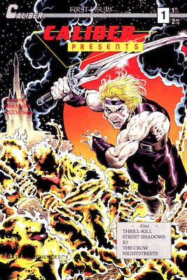 Caliber Presents #1 (1989): 1st Appearance of the Crow in Comics; Scarce. Click for value