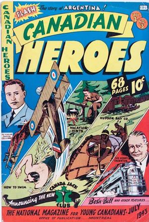 Canadian Heroes v2 #3