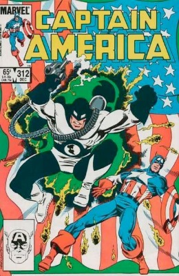 Origin and First Appearance, Flag-Smasher, Captain America #312, Marvel Comics, 1985. Click for value