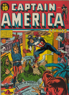 Captain America Comics #10. Click for current values.