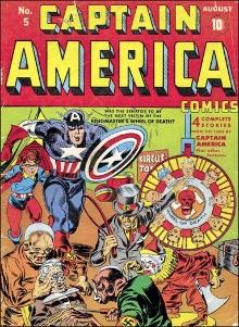 Captain America Comics #5. Click for current values.