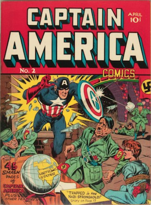 Captain America Comics #2. Click for current values.