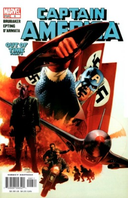 Winter Soldier (First Appearance: Captain America Vol. 5 #6, January, 2005). Click for value