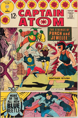Punch and Jewelee: First Appearance, Captain Atom #85. Click for value