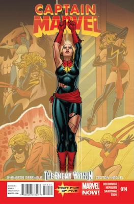 Captain Marvel volume 7 #14, 1st Kamala Kahn, Regular Edition. Click for values