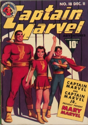 Captain Marvel Adventures #18: Origin and First Appearance, Mary Marvel. Click to see value