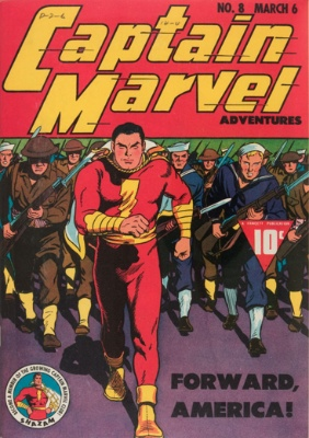 Origin and First Appearance, Ibac, Captain Marvel Adventures #8, Fawcett Comics (DC Comics), 1942. Click for value