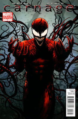 Carnage (2010) #1 Zircher Variant. Click for values