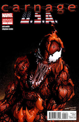 Carnage, U.S.A. #1 Variant. Click for values