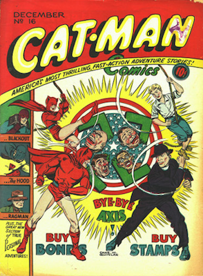 Cat-Man Comics #16. Click for current values.