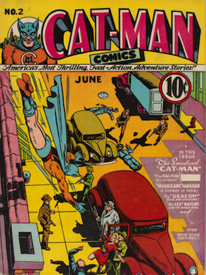 Cat-Man Comics #2. Click for current values.