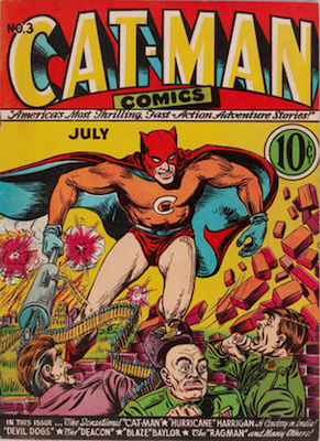 Cat-Man Comics #3. Click for current values.