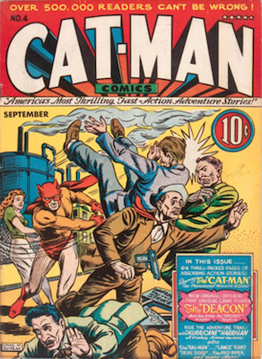 Cat-Man Comics #4. Click for current values.