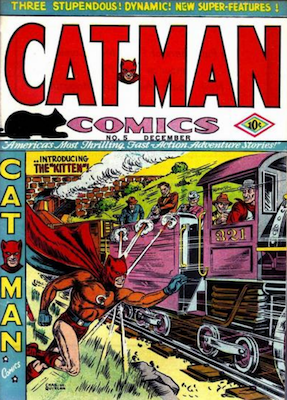 Cat-Man Comics #5. Click for current values.