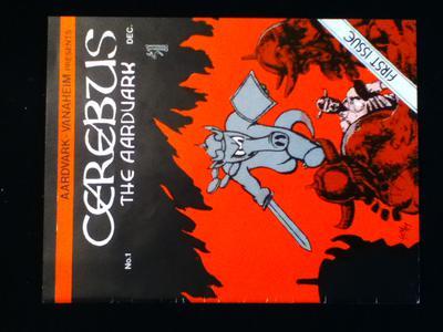 Cerebus #1 Value? front cover